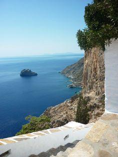 Amorgos Paros, Santorini Villas, Myconos, Places In Greece, Greek Beauty, Greece Islands, Sandy Beaches, Heaven On Earth, Crete