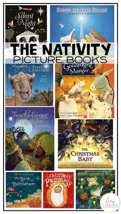 Incorporate books regarding Jesus' birth into your Christmas book list.
