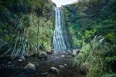 KareKare Waterfall. Neil Arnold
