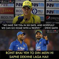 Icc Cricket, Latest Cricket News, Steve Smith, Virat Kohli, Good Times, Laughter, Jokes, Lol, My Love
