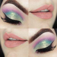 Tutorial – maquiagem colorida Unicórnio Candy Color More