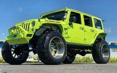 Save by Hermie Jeep Wrangler Sport, Jeep Rubicon, Jeep 4x4, Jeep Truck, Jeep Wranglers, Green Jeep, Blue Jeep, Custom Jeep, Custom Cars