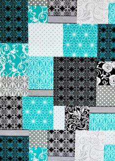 Cheater patchwork fabric Cheater Quilting fabric by RomiWstudio