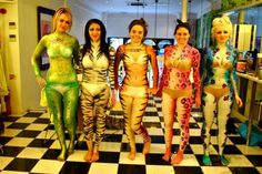 Zoo Project Body Painting