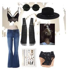 """""""#boho#style"""" by klionasopoulou on Polyvore featuring Été Swim, Gap, Club L, Forever 21 and Not Rated"""