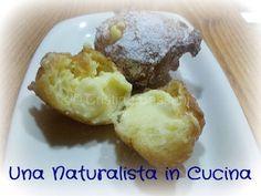 Una Naturalista in Cucina: Le frittelle (ripiene di crema chantilly) sono buone e sono belle...