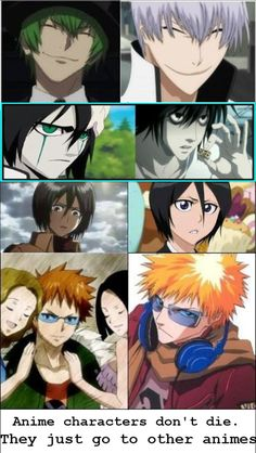 Bleach is the Hub <--- Of course it is. Everyone knows that Soul Society oversees dead souls.< this!