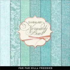 Sunday's Guest Freebies ~ Far Far Hill  ✿ Follow the Free Digital Scrapbook board for daily freebies: https://www.pinterest.com/sherylcsjohnson/free-digital-scrapbook/ ✿ Visit GrannyEnchanted.Com for thousands of digital scrapbook freebies. ✿