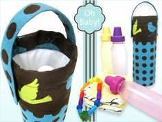 Oh Baby! with Fabric.com: Insulated Baby Bottle Carrier | Sew4Home