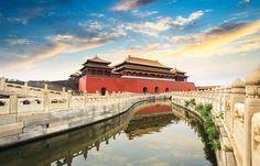 Eines der Gebäude der Verbotenen Stadt in Peking