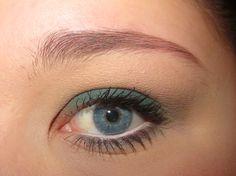 Make up , petrolio, blue eyes ☺️