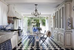 french country chic interior design - Google Search