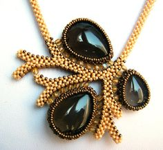Awesome tree branch design CRAW necklace.