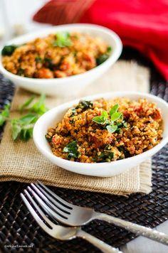 Italian Quinoa - Cooking Quinoa