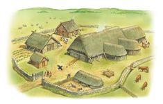 A Viking farm from the Q Files Encyclopedia