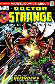 Doctor Strange Issue No 2 Comic Cover 1974