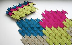 houndstooth table tiles by Masters of None