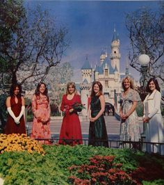 """The Football Homecoming Court, in the 1975 """"Fasti"""" yearbook of Chaffey High School in Ontario, California.  #Chaffee #Ontario #California #yearbook #Fasti #1975"""