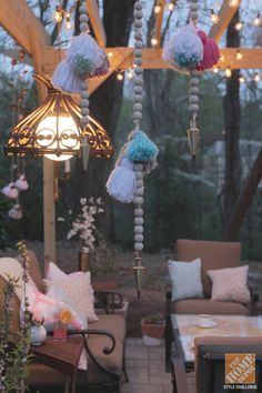 Backyard Patio Ideas: A Pergola, DIY Decor and Family Fun