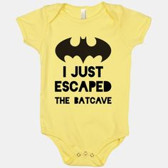 I Just Escaped the Batcave