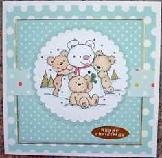 Squirrel's World: Going Dotty ..... with Distress Inks