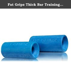 Fat Gripz Thick Bar Training Grips Blue KIT-2pack. Fat Gripz are used by members of the US Special Forces, British Marine Commandos, NFL teams, top UFC fighters and champion powerlifters. Fat Gripz has been featured by Mens Health Magazine, Men's Fitness magazine, Ironman magazine, Flex magazine, Maximum Fitness magazine, Musclar Development magazine and the New York Times #1 Best Seller, and The 4 Hour Body by Tim Ferriss.