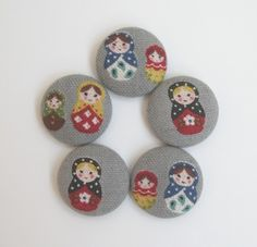 matryoshka doll magnets