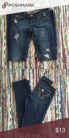 Hollister Skinny Jeans 5 long -- 27 waist - 35 length Hollister Jeans Skinny