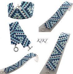 Bead Loom Designs, Loom Beading, Beads, Etsy, Accessories, Fashion, O Beads, Moda, Beading