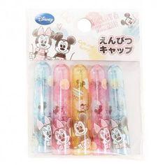 Disney Mickey & Minnie Pencil Caps (◕ᴥ◕) Kawaii Panda - Making Life Cuter
