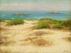 Theodore Wores (United States, 1859-1939), Monterey Coast: 17 Mile Drive, 1919, Los Angeles County Museum of Art, Gift of Drs. Ben and A. Jess Shenson (M.91.144)