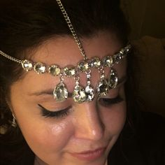 crystal headpiece Brand new- so fun for spring and summer Accessories