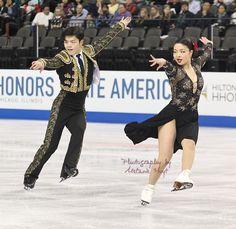 Maia Shibutani & Alex Shibutani (USA) - 2014 Skate America SD © Melanie Hoyt
