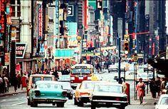 Toronto, Yonge Street Strip through the 1960s and 1970s.