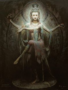 Goddess of Compassion, Kuan Yin.