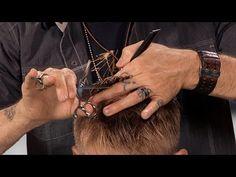 How To Create Visual Texture in Fine Hair - Men's Haircut Technique