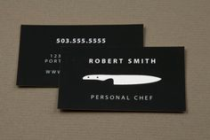30 Examples Creative Chef Business Card for Inspiration - Smashfreakz