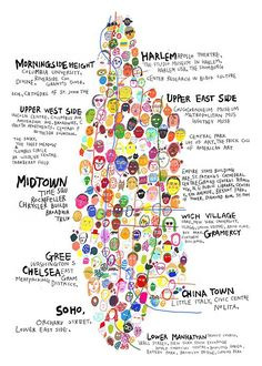 random notes: geographer-at-large: Unconventional (yet informative!) Maps of the Big Apple