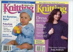 Knitting Digest Magazine Nov. 2003  & July 2003 Pre-Owned Really Good Condition #KnittingDigest #Backissues #Knittingpatterns