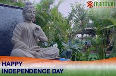 ''Happy 70th Independence Day'' from Manthan Yogic Village, Goa