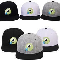 New Mens Womens Authentic Disney PIXAR MONSTER Tears Baseball Snapback Caps Hats #hellobincom #BaseballCapHats