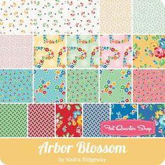 Arbor Blossom Fat Quarter Bundle<br/>Nadra Ridgeway for Riley Blake Designs