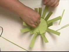 ▶ Paper Basket Weaving - YouTube