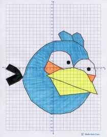 Coordinate Grids  Angry Birds - Click image to find more Education Pinterest pins
