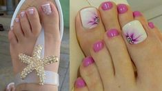 Pedicure Nail Art, Toe Nail Art, Toenail Art Designs, Cute Pedicures, Smoke Wallpaper, Funky Nails, Top Nail, Gorgeous Feet, Get Nails
