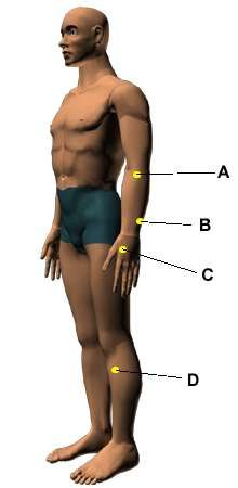 Acupressure Points for Relieving Arthritis  Working on these points can help you get better quicker. You do not have to use all of these points. Using just one or two of them whenever you have a free hand can be effective.