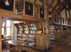 Mansfield College Library  Oxford