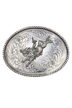 Montana Silversmiths Bull Rider Belt Buckle #rodeo #bullrider