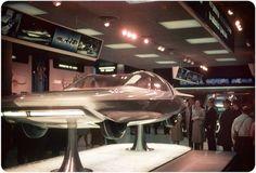 GM Firebird IV on display at GM's Futurama at the 1964 New York World's Fair in 1964.