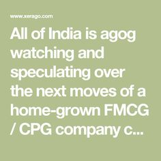 Why A New FMCG Brand Is Going To Need Marketing Muscle